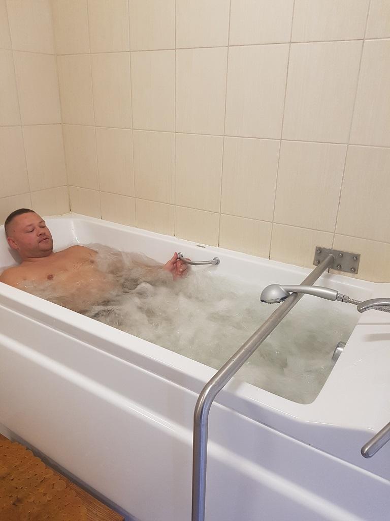 perlinė vonia